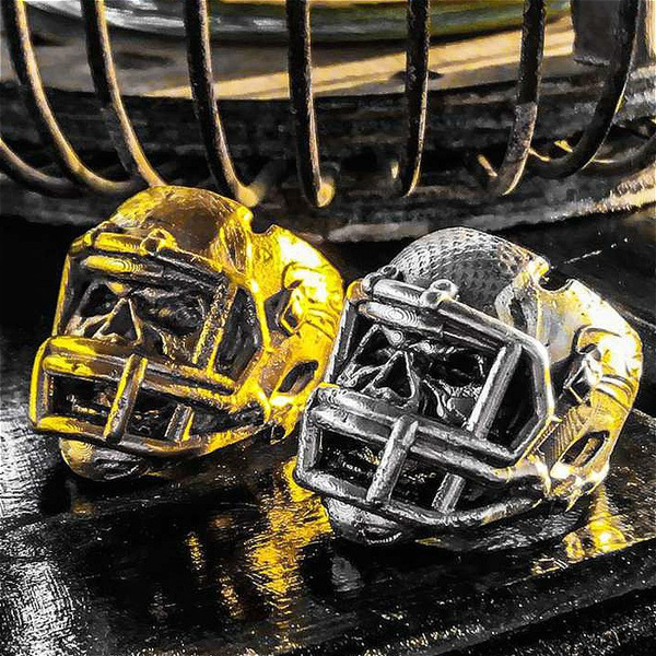 nflring, Fashion, Stainless Steel, punk rings