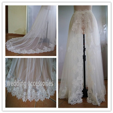 tulledetachableskirt, Lace, Wedding Accessories, Dress