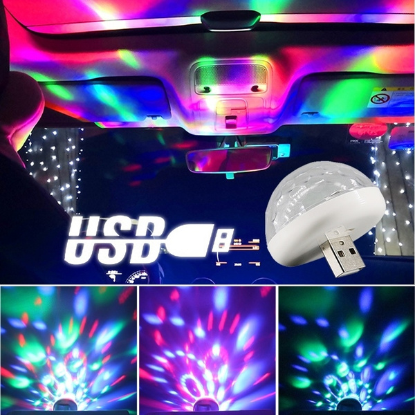 Mini, Lighting, Dj, usb