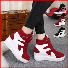 casual shoes, wedge, Sneakers, Platform Shoes