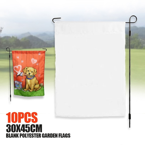 Polyester, sublimationgardenflag, Garden, blankgardenflag