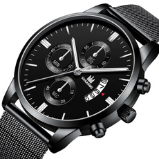Chronograph, Fashion, Casual Watches, Waterproof