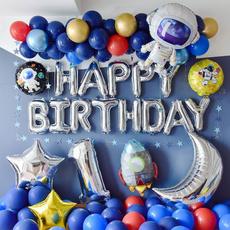 rocketballoon, kidpartydecoration, birthdayballoon, spacethemebirthday