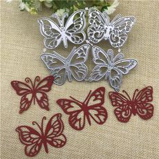 butterfly, Scrapbooking, embossingfolderdie, starframecarbonsteeldie
