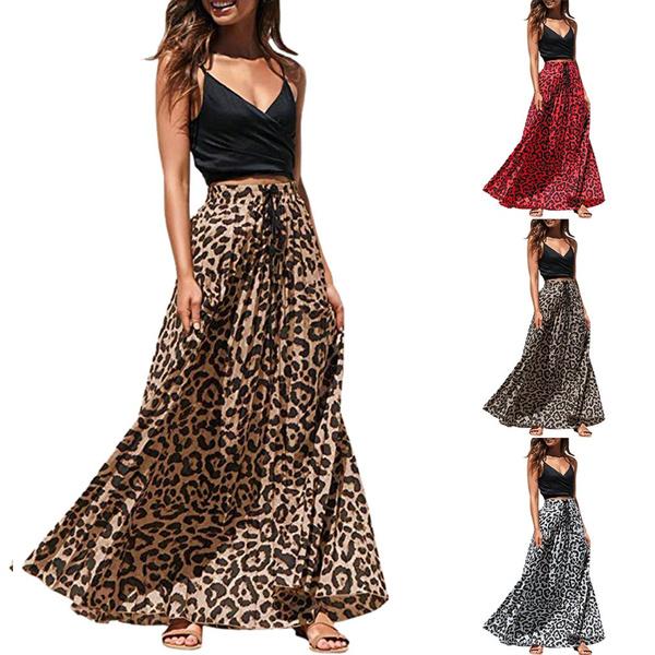 leopardskirt, Fashion Skirts, Shirt, boho