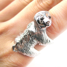 Sterling, Bridal, animalring, Jewelry