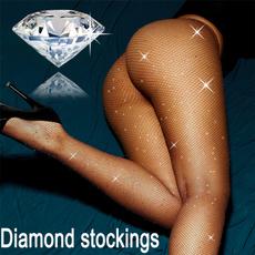 DIAMOND, Stockings, Jewelry, hotdrillingstocking