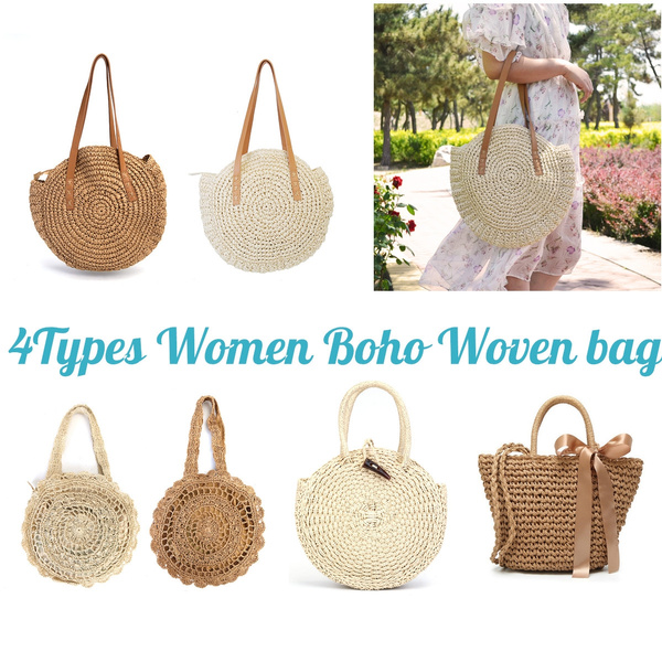 bohemia, Shoulder Bags, strawbag, handbags purse