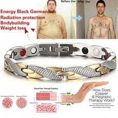 Steel, weightlossbracelet, therapybracelet, Jewelry