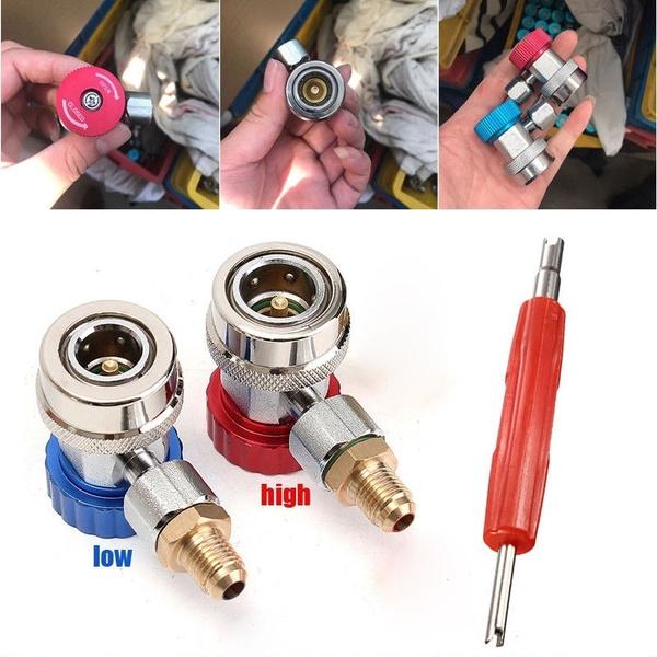 quickcoupleradapter, Adapter, autocarairconditioning, Metal
