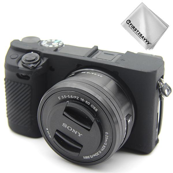 rubbercameracaseforsonyalphaa6400a6300, case, Silicone, Photography