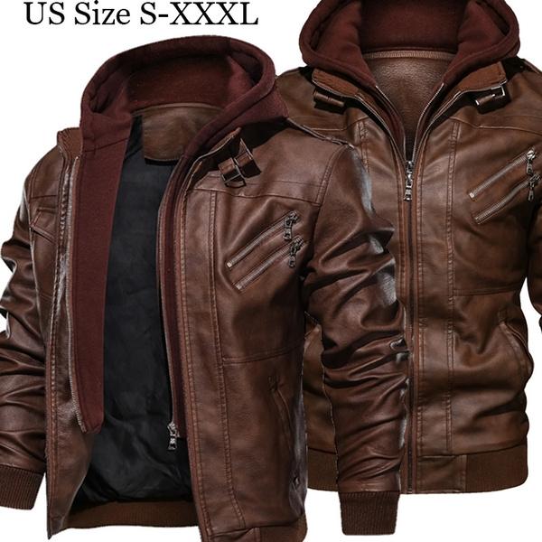 motorcyclejacket, Plus Size, Spring/Autumn, thincoat