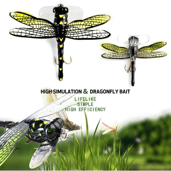 dragonflyfishinglure, topwaterfishinglure, Bass, Outdoor Sports