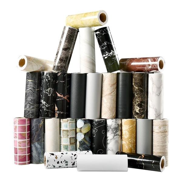 Home Decor, Waterproof, marblewallsticker, Stickers