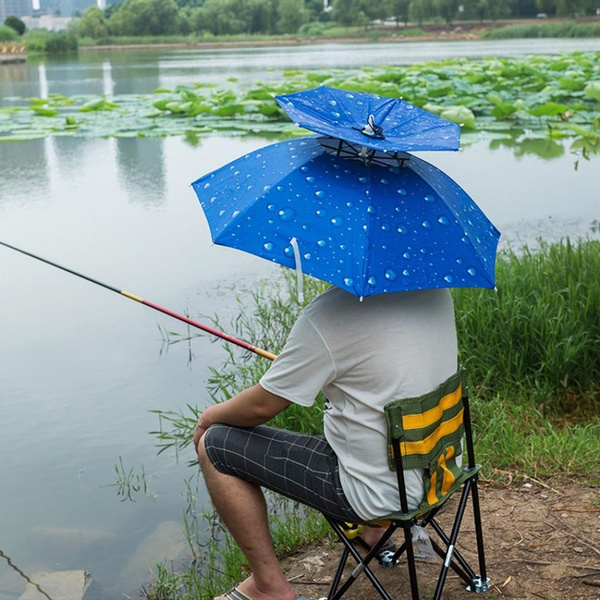 fishingcap, Outdoor, Umbrella, antiuvumbrella