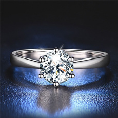 whitegoldring, DIAMOND, promiseringsforher, wedding ring