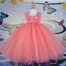 Beautiful, girls dress, kidspeachdres, Dress