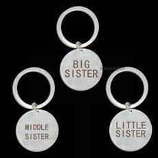 Chic, sister, Fashion, Key Chain