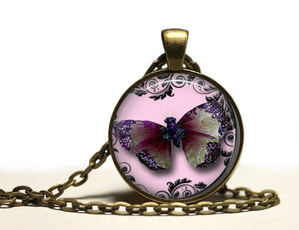 butterfly, Jewelry, Animal, Nature