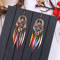 rainbow, pendantearring, Jewelry, Colorful