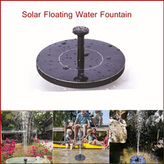 Mini, Garden, waterfountain, solarpump