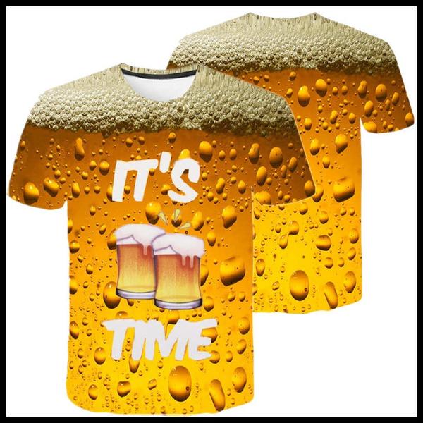 Summer, Shorts, roundnecktshirt, oneckmenstshirt