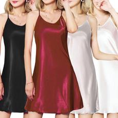 night dress, sexy lingerie, Mini, Dress