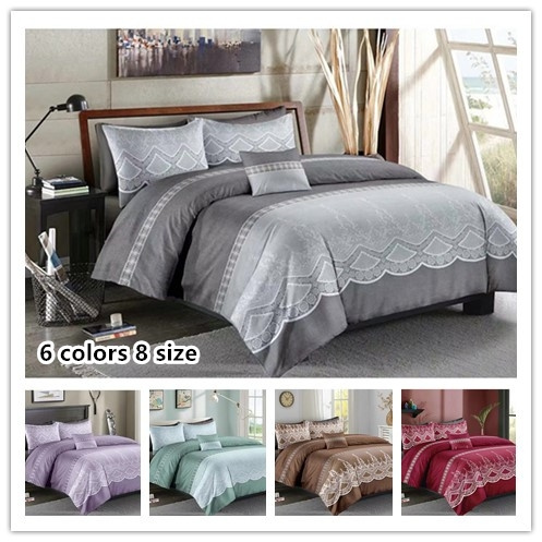 King, Lace, Cover, duvetcoverset
