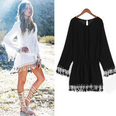 bohemia, Summer, Fashion, Dress