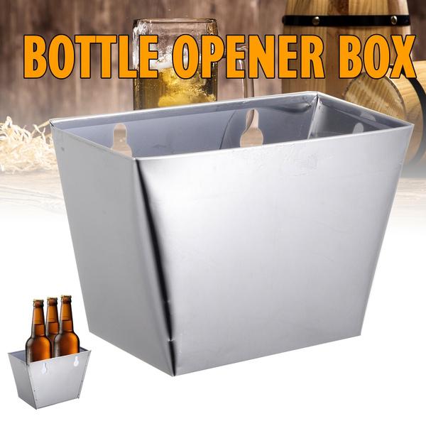 Box, Storage Box, wallmounted, Stainless Steel