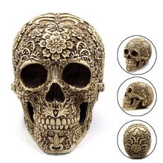 skulldecoration, Home Decor, Shelf, humanskeleton