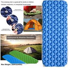 waterproofpad, Inflatable, sleepingpad, campingpad
