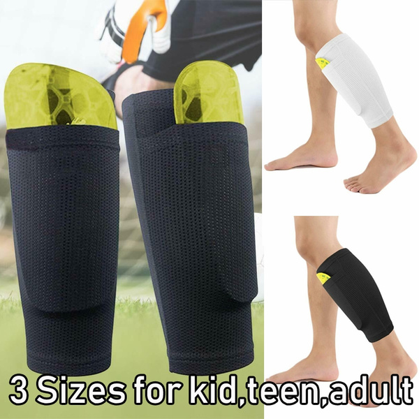 Shin Pad Holder Soccer Football Foot Socks Lock Sleeves For Leg Guard Board Lin