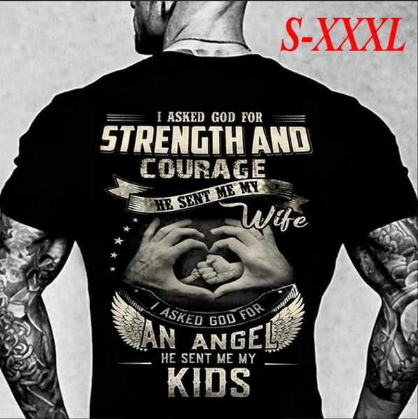 sunmershirt, Cotton Shirt, fathershirt, Angel