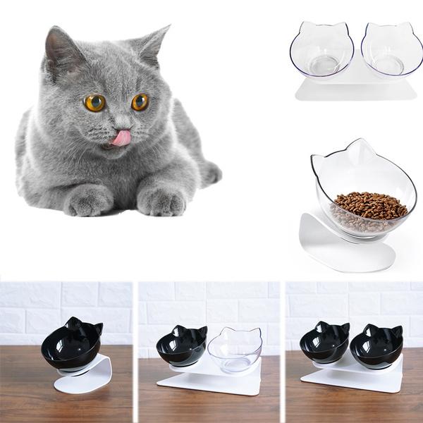 non-slip, kittenfoodbowl, pet bowl, catbowlsbluemedium