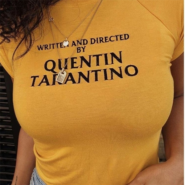 Summer, Fashion, Cotton T Shirt, letter print