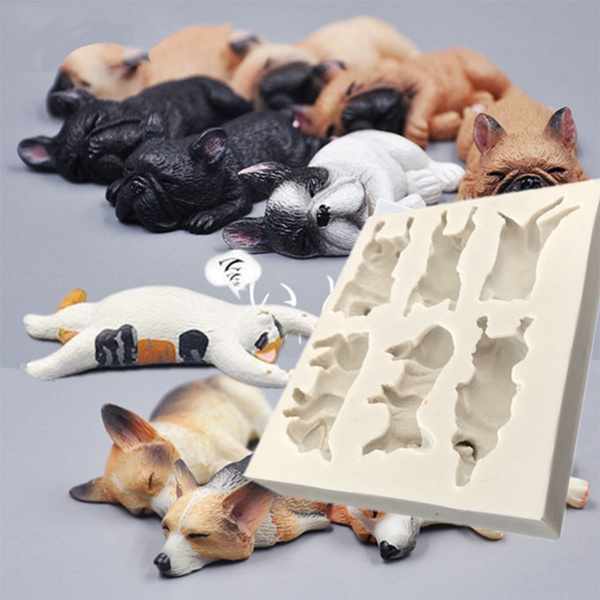 mould, puppy, Baking, fondantmold