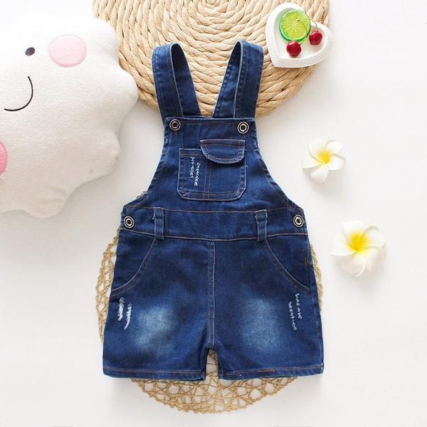 kids clothes, Summer, Shorts, cowboydungaree
