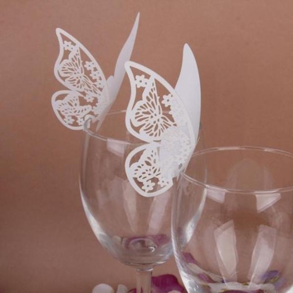 butterfly, Wedding Supplies, Glass, Wedding