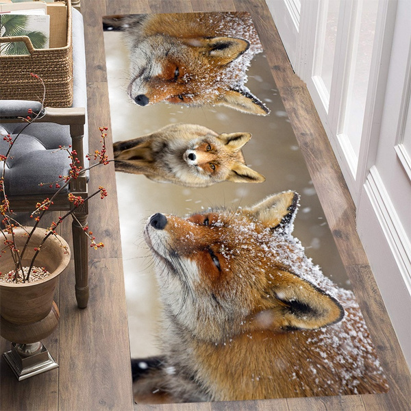 doormat, Bathroom, Fox, Home Decor