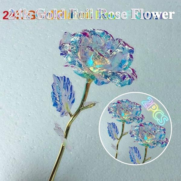 24kgold, Beautiful, Flowers, Jewelry
