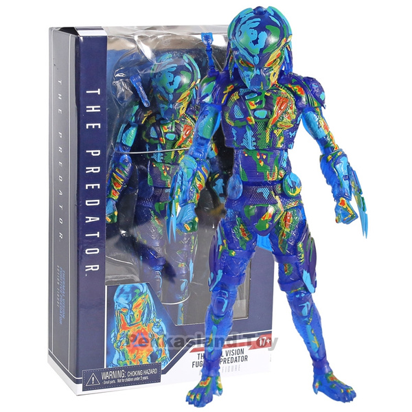 Collectibles, Toy, necapredatormoviethepredatorthermalvisionfigure, thepredatorthermalvisionfugitiveactionfigure
