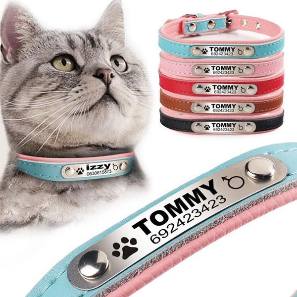 Leather Pet Collar Dog Cat Collar Animal Collar