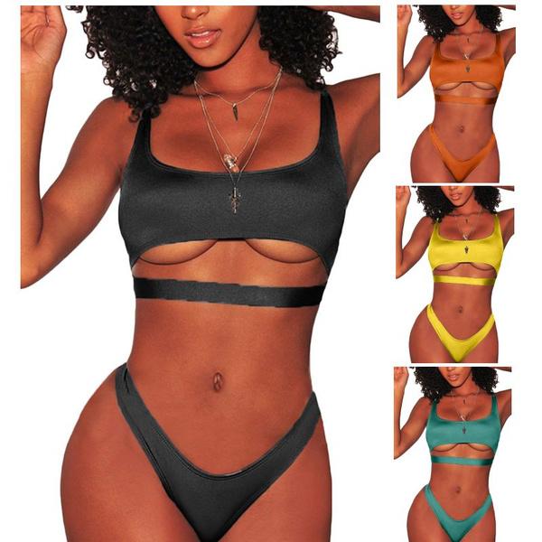 Bikinis Set, twopiecebikini, Bikini swimwear, Tops