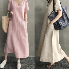 Plus Size, sleeve dress, Necks, Sleeve