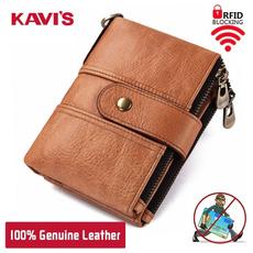 Shorts, Wallet, genuine leather, rfid