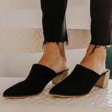Plus Size, Womens Shoes, highheelslipper, casualslipper