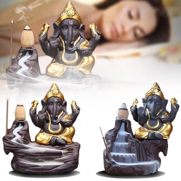elephantstatueincense, ceramiccenser, incenseburner, Ceramic