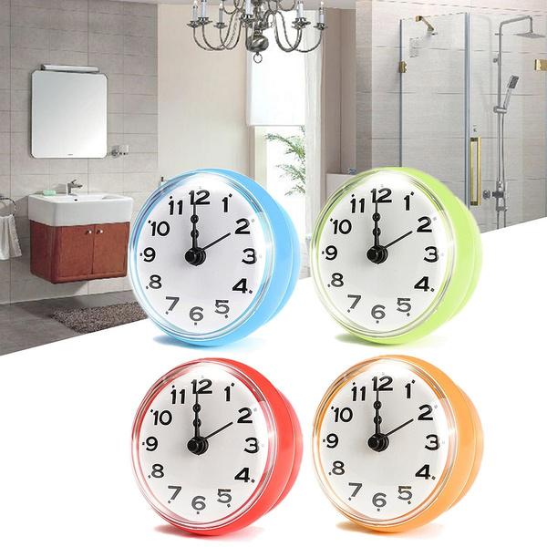 Bathroom Accessories, digitalshowerclock, Clock, Home & Living