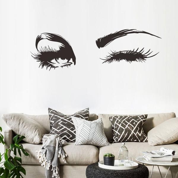 Eyelashes, Home & Kitchen, art, Home & Living